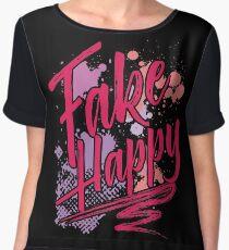 Fake Happy Chiffon Top