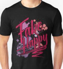 Fake Happy Unisex T-Shirt