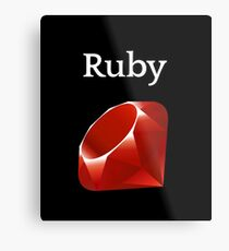 Ruby Programming Metal Print