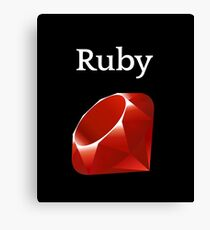Ruby Programming Canvas Print