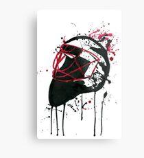 Watercolour Goalie Metal Print