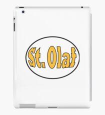 St. Olaf College Logo iPad Case/Skin