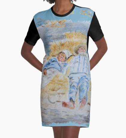 Ingedommeld Graphic T-Shirt Dress