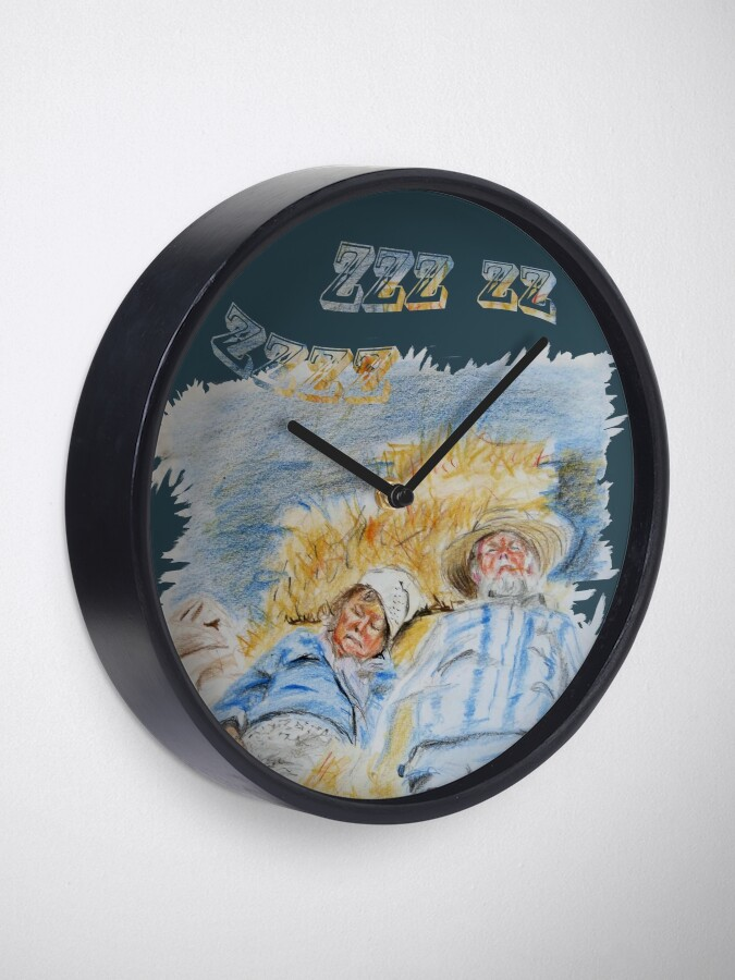 Alternate view of Ingedommeld Clock
