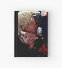 Xena and Gabrielle Kissing  Hardcover Journal