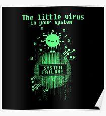 The little virus Poster