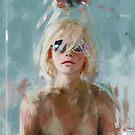 «retrato con gafas» de Ivana Besevic