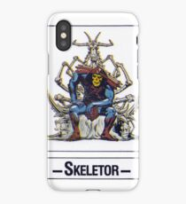 He-Man - Skeletor - Trading Card Design iPhone Case/Skin