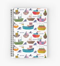 So many boats! Spiral Notebook