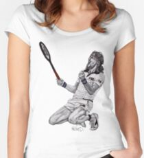 Tennis Borg Women's Fitted Scoop T-Shirt
