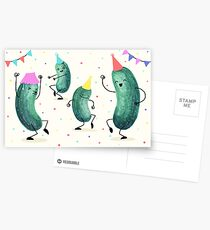 Pickle Party! Postcards