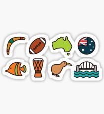 Australian Icons Sticker