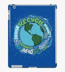 Earth Healthy Environment Art Drawing iPad Case/Skin