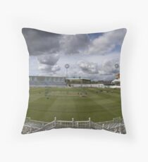 Trent Bridge Cricket Ground 1st May 2008 Throw Pillow