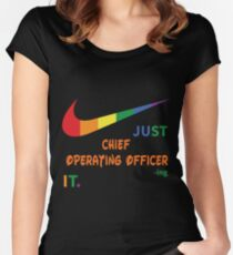 CHIEF OPERATING OFFICER BEST COLLECTION 2017 Women's Fitted Scoop T-Shirt