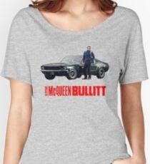 STEVE MCQUEEN BULLITT FORD MUSTANG Women's Relaxed Fit T-Shirt