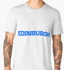 Edinburgh Scotland skyline Men's Premium T-Shirt