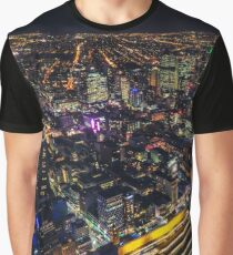 Melbourne Night Light Graphic T-Shirt