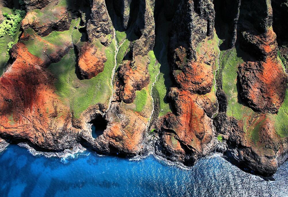 Na Pali Coast, Kauai, Hawaii by Philip James Filia