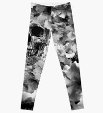 Skulls & Flowers Leggings