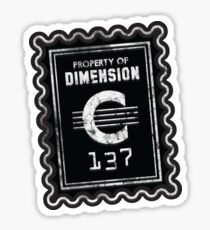 Property of Dimension C-137 Sticker