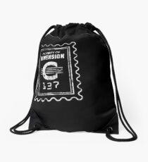 Property of Dimension C-137 Drawstring Bag