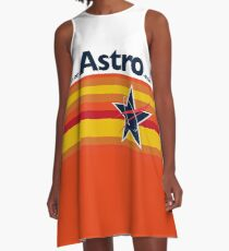 Man or Astro-Man? Vintage Baseball A-Line Dress