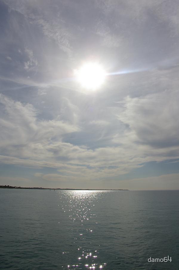 Sun, Water and Earth by damo64