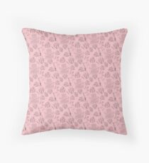 The Writer's Mantra Practice Practice Practice Throw Pillow