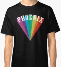 Phoenix Rainbow Black Classic T-Shirt