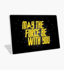 May the Force Be With You Laptop Skin