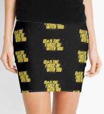 May the Force Be With You Mini Skirt