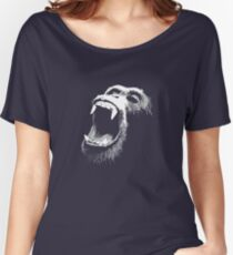 Primate Scream Women's Relaxed Fit T-Shirt