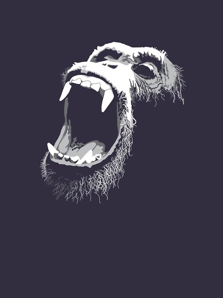 Primate Scream by rubyred