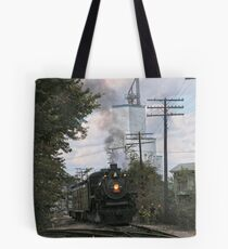 Up Around the Bend Tote Bag