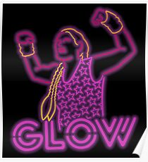 Glow Wrestling Poster