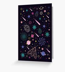 Bug Galaxy  Greeting Card