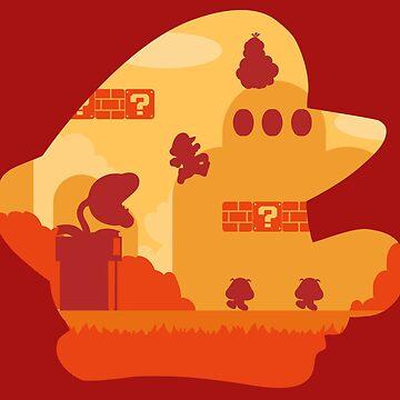 Mushroom Kingdom by tchuk
