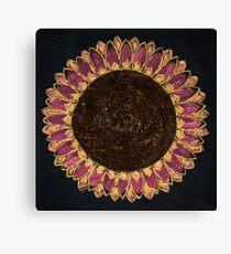 Sunflower Vibrance Fine Art Canvas Print