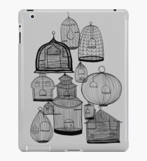 IF YOU LEAVE THE CAGE DOOR OPEN... iPad Case/Skin