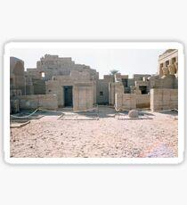 Temple of Dendera, No. 2 Sticker