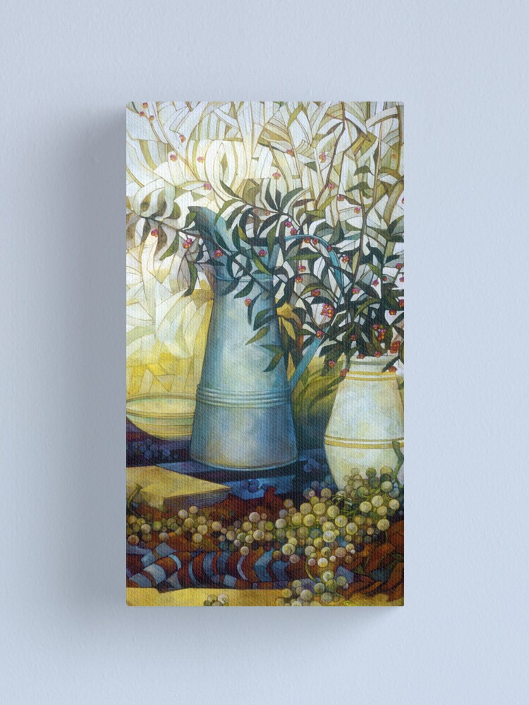 Alternate view of stil life with Euonymus Canvas Print