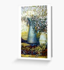 stil life with Euonymus Greeting Card