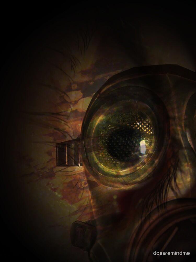 gas mask by doesremindme