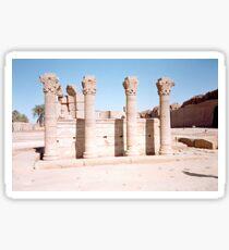 Temple of Dendera, No. 3 Sticker