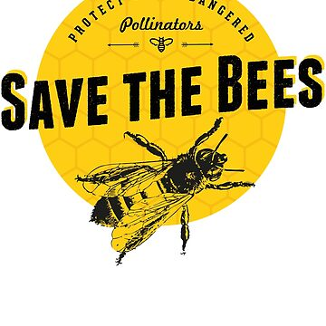 Save the Bees by augenpulver
