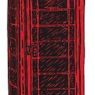 British Telephone Box by Carrie Dennison