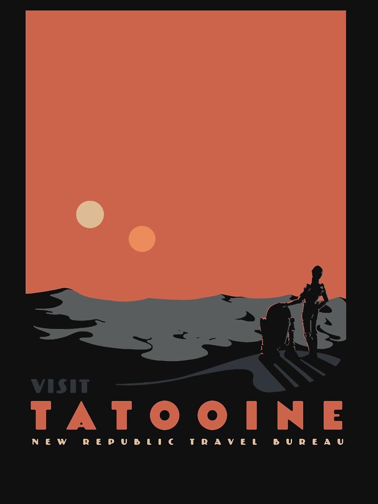 Visit Tatooine by mathiole