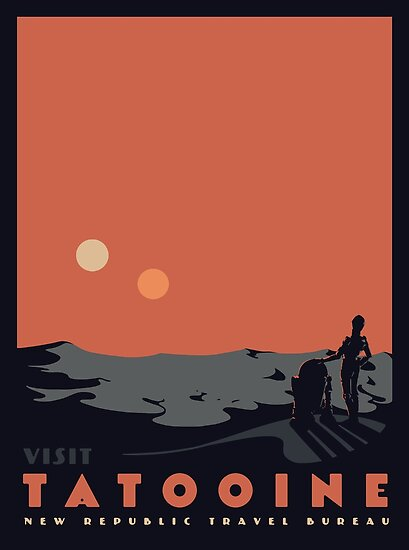 Visit Tatooine by mathiole