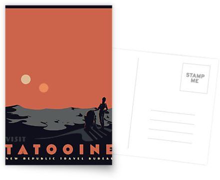 Besuche Tatooine von mathiole